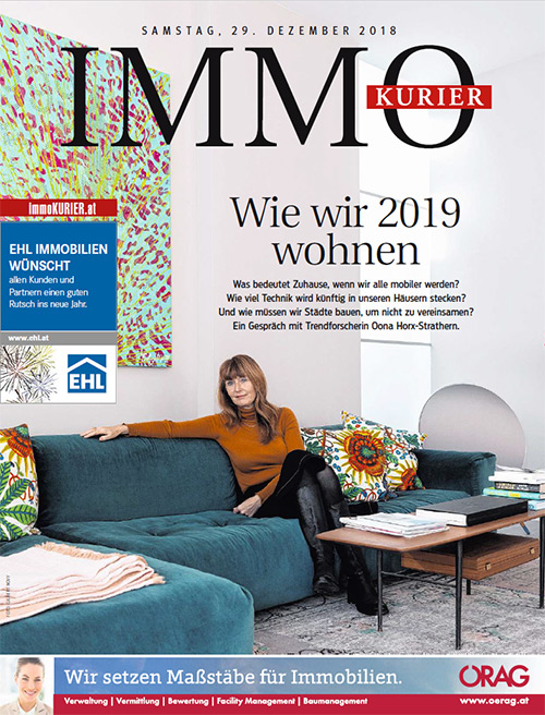 IMMO-Kurier - Wie wir 2019 wohnen
