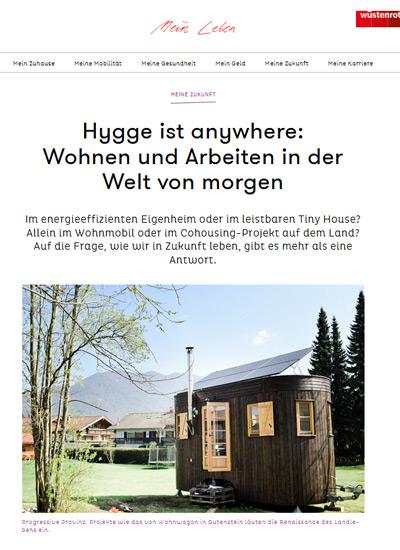 Wüstenrot Magazin - Hygge ist anywhere