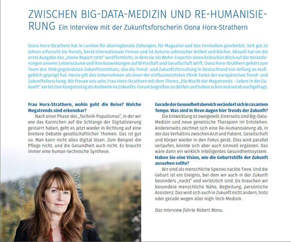 Zwischen Big-Data-Medizin und Re-Humanisierung