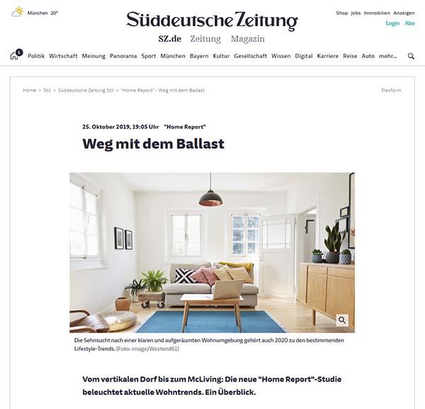 Süddeutsche Zeitung: Weg mit dem Ballast