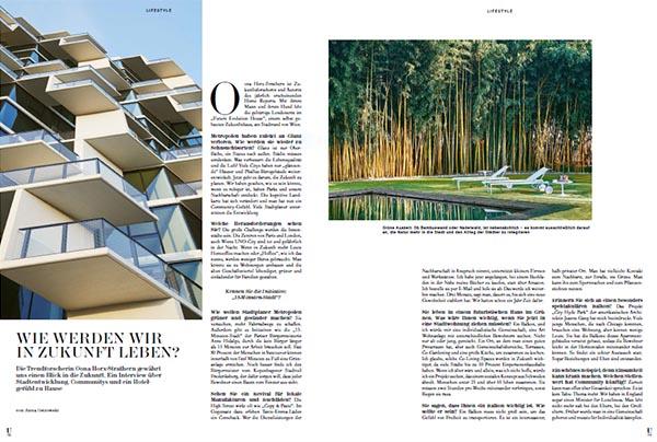 Unger Magazin: Wie werden wir in Zukunft leben?